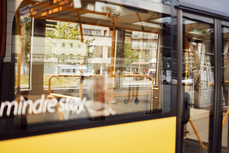 buss nærbilde