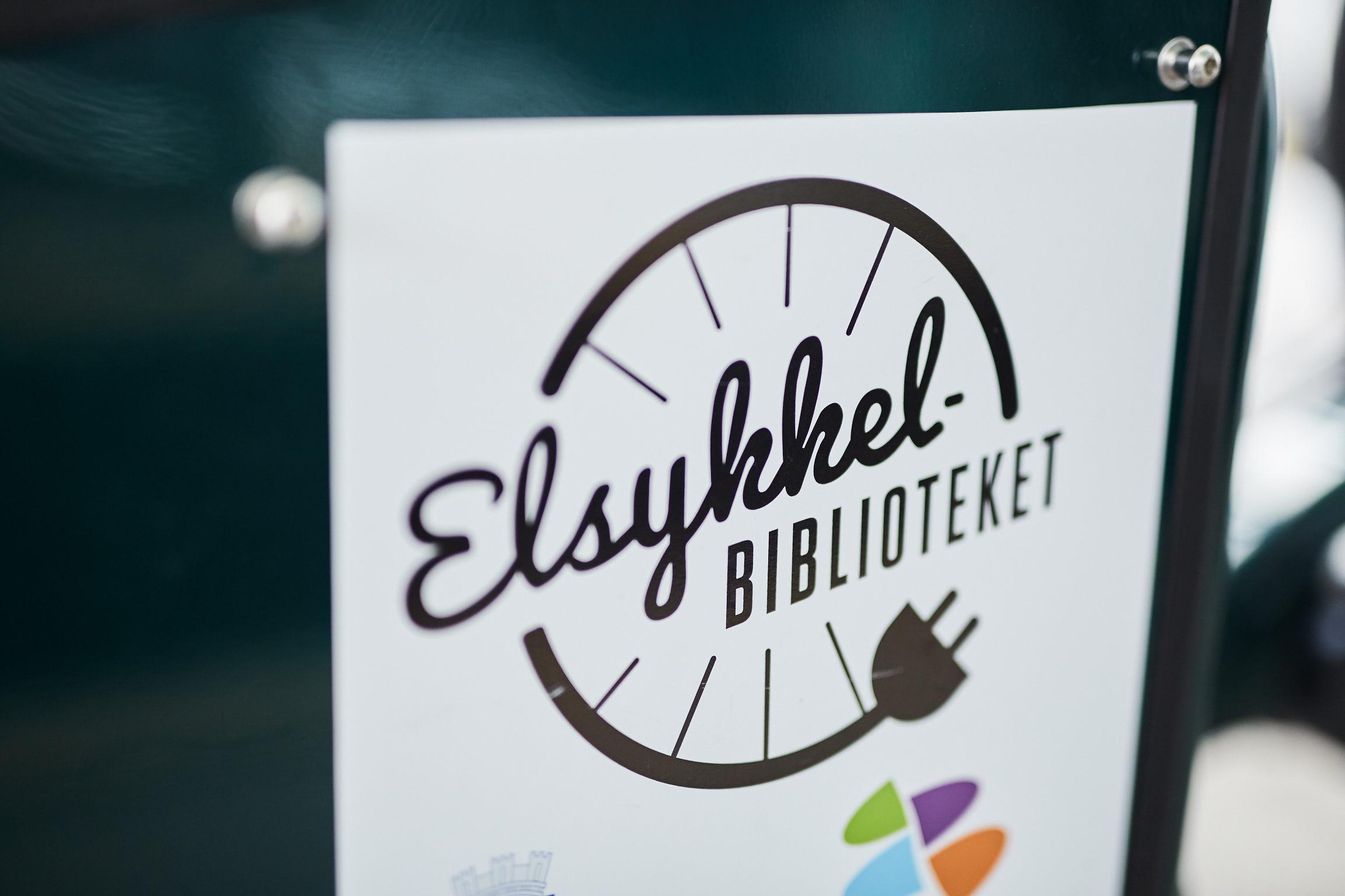 Elsykkelbiblioteket i Drammen