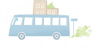 illustrasjon av buss